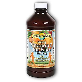 Dynamic Health Laboratories Liquid Vitamin C for Kids, 333 mg, 16 oz