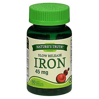 Nature's Truth Iron, 45 mg, 60 Tabs