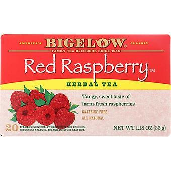 Bigelow Tea Red Rspbry 20Bg, Case of 6 X 1.18 Oz