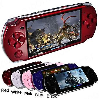 New  x6 4.3 inch game player built in 5000 game support 10 emulators for kid's retro handheld video game console