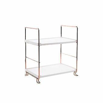 nieuwe 2 laag een badkamer plank opslag rack display stand planken voor cosmetica shampoo sm42951