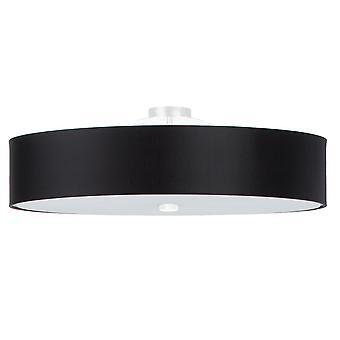 Cylindrisk spolljus svart 60cm E27