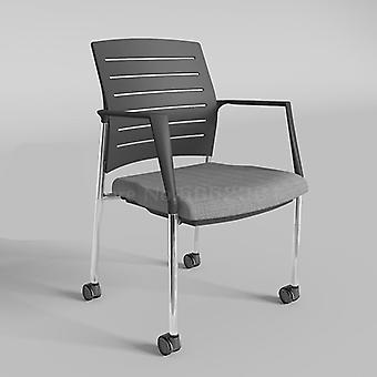 مسند ذراع المكتب، كرسي التدريب مع مجلس الكتابة، مقعد مسند الظهر