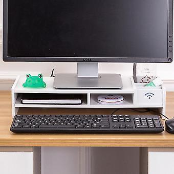 multi-funksjon stasjonær skjerm stativ datamaskin skjerm riser