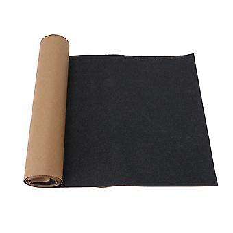 115x26,5cm Schwarz Skateboard Grip Tape Sheet Long Board Sportteile
