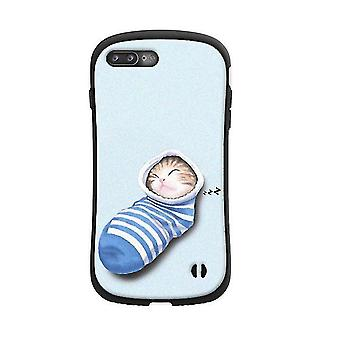 Apple iPhone XS Soft TPU Shockproof Protective Case - Bleu