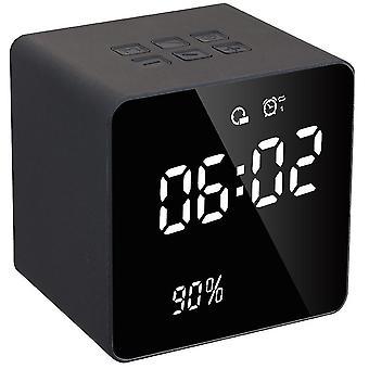 Altoparlante bluetooth mini orologio musicale (grigio)
