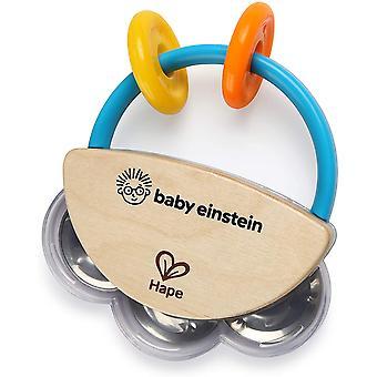 Drevená hudobná hračka Hape Tiny tambourine