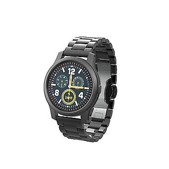 Smart Watch Schermo a colori IPS da 1,22 pollici 240 * 240 risoluzione multifunzione Più modalità sportive Monitoraggio dello stato Fotografia telecomando (nero)