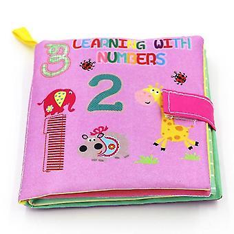Hochets interactifs livres en tissu doux avec de grands rabats sm159099