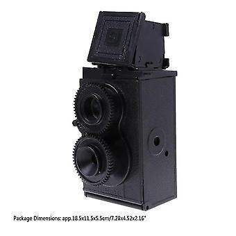 Reflexkamera med dubbla objektiv Retro Classic Tlr