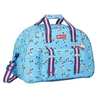 Sports bag Rollers Moos Multicolour Light Blue (21 L)