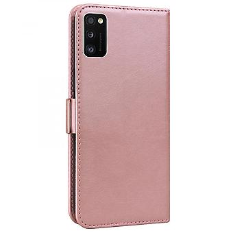 Case For Samsung Galaxy A41 Wallet Flip Pu Leather Cover Card Holder Coque Etui - Pink Cat