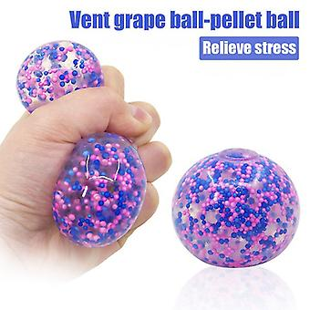 1/2/3 Pc Soft Colorful Stress Balls Autisme Squeeze Ball Exercice Sports