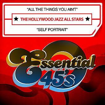 Hollywood Jazz All Stars - alle de dingen u Ain't / Self Portrait USA import