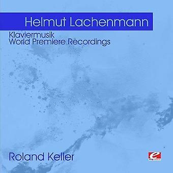 Helmut Lachenmann - Helmut Lachenmann: Klaviermusik [CD] USA tuonti