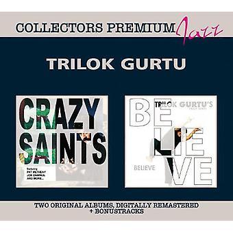 Trilok Gurtu - importation USA Crazy Saints & croire [CD]