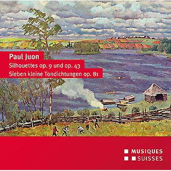 Juon / Sosnowski / Hartmann / Nuss - Silhouettes Op. 9 & 43 - Seven Little Tone Poems [CD] USA import
