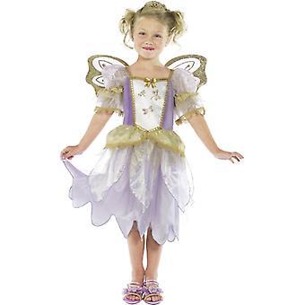 Märchenkostüm Kinder Prinzessin Fee Kleid LILA Kostüm