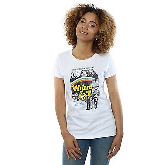 The Wizard Of Oz Women's Distressed Movie Poster T-Shirt