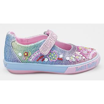 Lelli Kelly Tillie LK5068 Rainbow Glitter Shoes