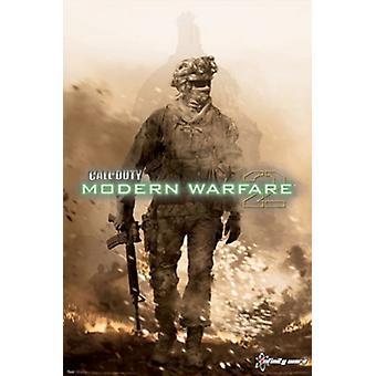 Modern Warfare 2 - avain Art Juliste Tulosta