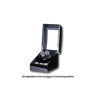 Portax Watchwinder Eleganza 2 watches ebony Walnut Burl 1002323004