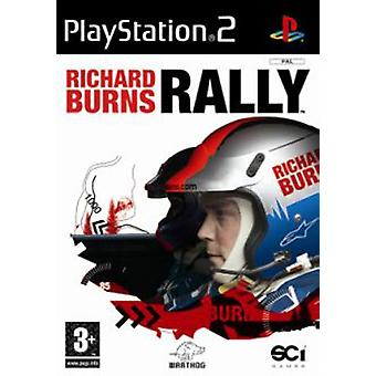 Richard Burns Rally (PS2) - Ny fabrik förseglad