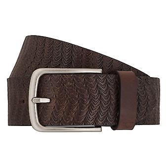 Cinturones cuero jeans cinturón camel active cinturones hombre marrón 6999