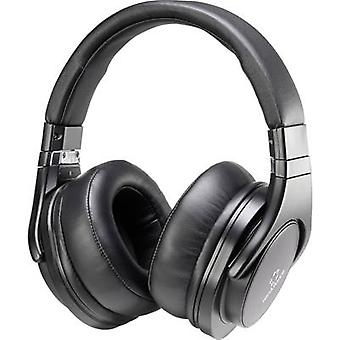 Renkforce HP-P266 on-ear kuulokkeet on-ear headset musta