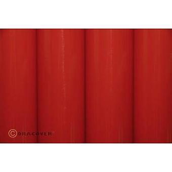 Oracover 21-022-002 Iron-on film (L x W) 2 m x 60 cm Light red