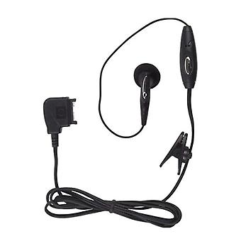 5 Pack -Wireless Solution - Pop Port Earbud Headset for Nokia 6682, 6101, 6102, 9300, 6282, 6126 - Black