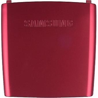 OEM Samsung SGH-A437 Battery Door, Standard size - Red