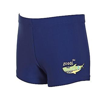 Zoggs ジュニア男子水泳パンツ ヒップ レーサー海軍 1-6 歳の子供のため