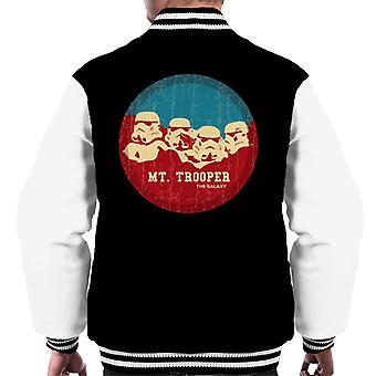 Originele Stormtrooper Mt Trooper Rushmore mannen Varsity Jacket