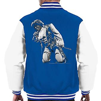 James Brown Playing At Wembley 1991 Men's Varsity Jacket