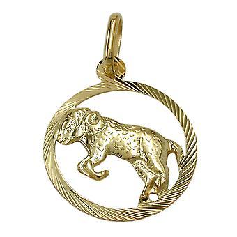 Zodiaque pendentif Bélier or 375 Zodiac, Bélier, 9 KT GOLD