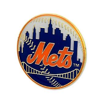 New York Mets MLB Logo Pin