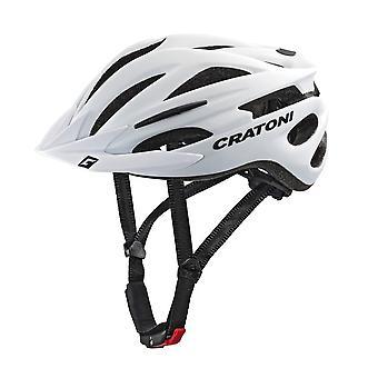 CRATONI PACER bike helmet / / matt white