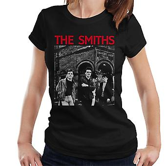 The Smiths Salford Lads Club Manchester Band Shot Women's T-Shirt