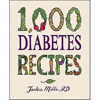 1 - 000 diabetes recept av Jackie Mills - 9780470407448 bok