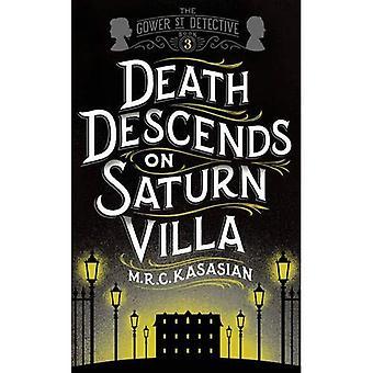 Morte desce na Villa de Saturno (a série de detetive Gower Street)