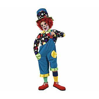 E loco niño traje bufón bufón unisex traje