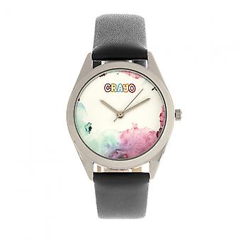 Crayo Graffiti Unisex Watch - Silver/Black