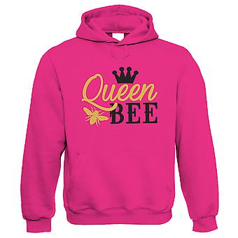 Queen Bee Crown, Womens Funny Hoodie   Funny Novelty Perfect Gift Present For Mum Mom Mama Ladies   Mothers Day Birthday Christmas from Daughter Son Grandson