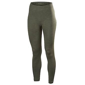Falke Wool Tech Long Tights - Olive Green