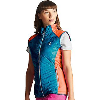 Dare 2b Womens Airwise Hybrid Wicking Warm Running Gilet