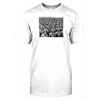 Koreanische Armee Soldat - klassische Krieg-Herren-T-Shirt