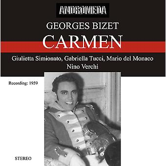 Nhk Symphony Orchestra & Simio - Carmen (Chante En Italien) [CD] USA import