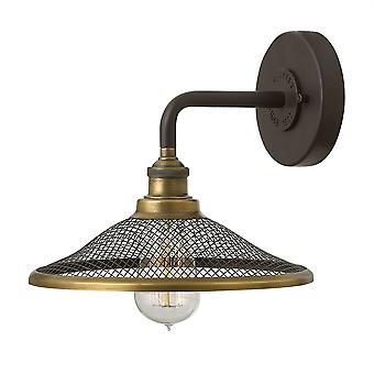 Stead-1 Light Indoor Wall Light Buckeye Bronze-HK/RIGBY1 KZ